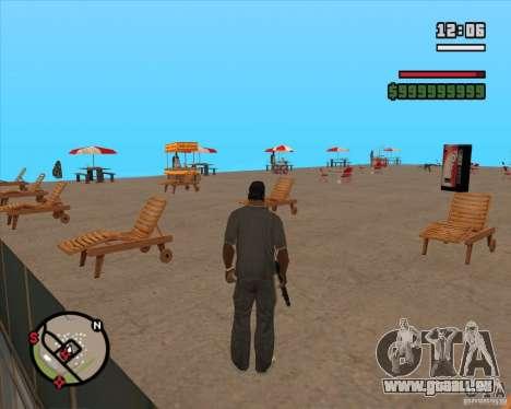 CJ-maire pour GTA San Andreas troisième écran