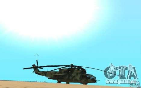 MI-24A für GTA San Andreas rechten Ansicht