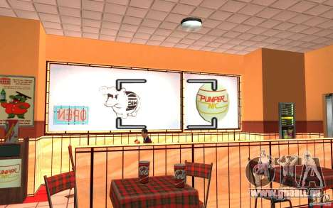 Pumper Nic Mod pour GTA San Andreas cinquième écran