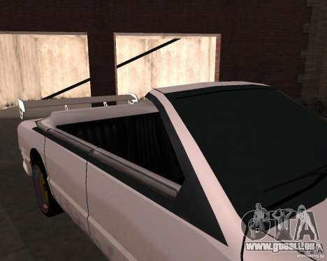 Taxi Cabrio für GTA San Andreas Innenansicht