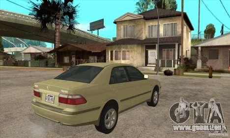 MAZDA 626 GF Sedan pour GTA San Andreas vue de droite