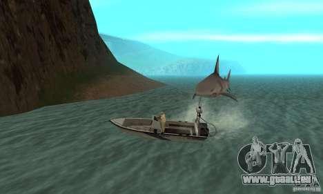 Shark Killer pour GTA San Andreas troisième écran