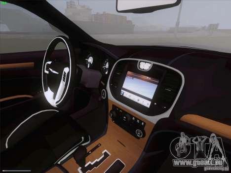 Chrysler 300 Limited 2013 für GTA San Andreas Rückansicht