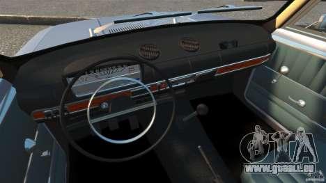VAZ-2101 Resto für GTA 4 Rückansicht