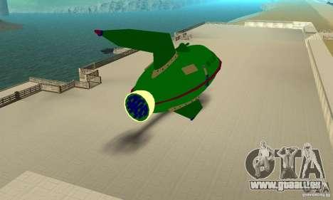 Planet Express für GTA San Andreas rechten Ansicht