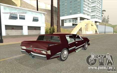 Chrysler Dynasty pour GTA San Andreas vue de côté