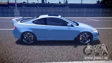 Acura RSX TypeS v1.0 Volk TE37 pour GTA 4 est une vue de l'intérieur