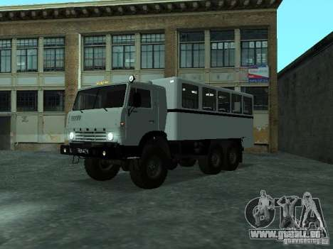 KAMAZ 4310 Watch pour GTA San Andreas