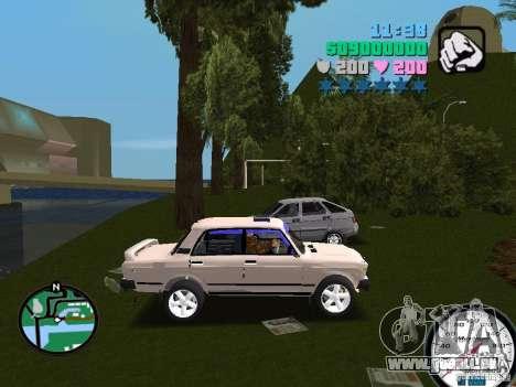 VAZ 2107 für GTA Vice City rechten Ansicht