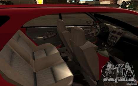 Subaru Impreza WRX Wagon 2002 pour GTA San Andreas vue de côté