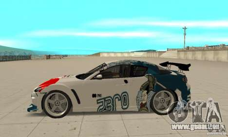 Mazda RX-8 NFS ProStreet für GTA San Andreas linke Ansicht