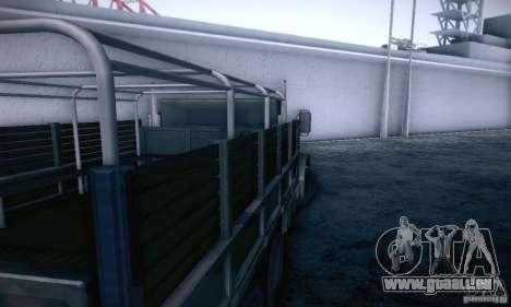 Barracks HD pour GTA San Andreas vue de droite