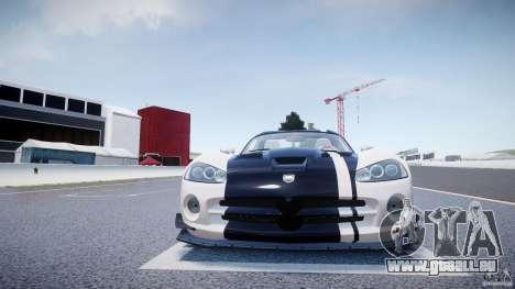 Dodge Viper SRT-10 ACR 2009 v2.0 [EPM] für GTA 4 Unteransicht