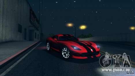 Dodge SRT Viper GTS 2012 V1.0 pour GTA San Andreas roue