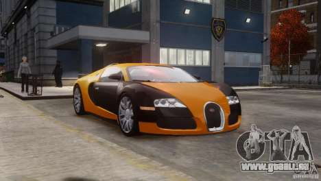 Bugatti Veyron 16.4 für GTA 4 Innenansicht
