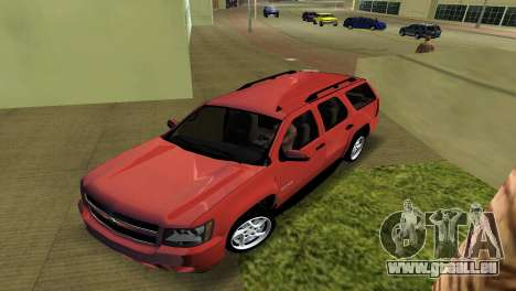 Chevrolet Tahoe 2011 für GTA Vice City linke Ansicht