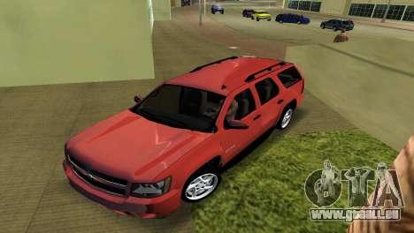 Chevrolet Tahoe 2011 pour une vue GTA Vice City de la gauche