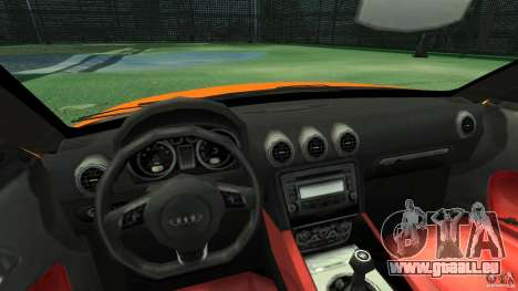 Audi TT Stock 2007 pour GTA 4 Vue arrière