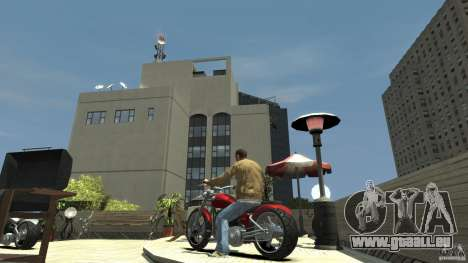 The Lost and Damned Bikes Lycan für GTA 4 hinten links Ansicht