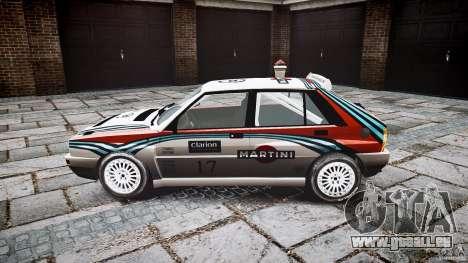 Lancia Delta Integrale Martini 1992 pour GTA 4 est une gauche