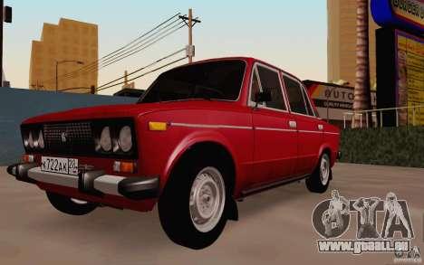 VAZ 2106 Drain für GTA San Andreas Rückansicht