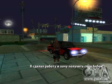 Killer Mod pour GTA San Andreas septième écran