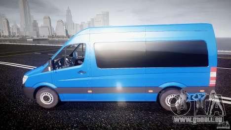 Mercedes-Benz ASM Sprinter Ambulance pour GTA 4 est une gauche