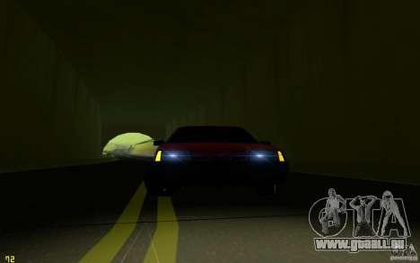 VAZ 2108 pour GTA San Andreas vue de dessus