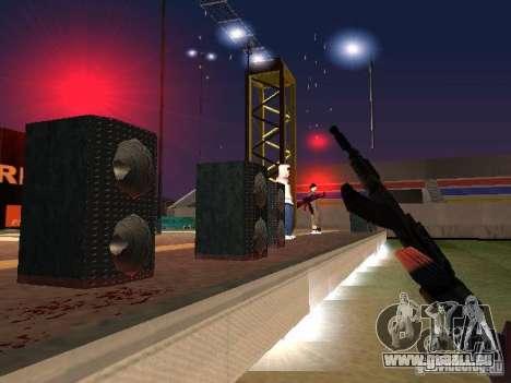 Konzert des AK-47 für GTA San Andreas fünften Screenshot