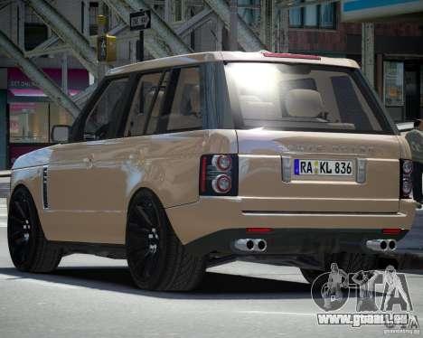 Land Rover SuperSharged pour GTA 4 est un droit