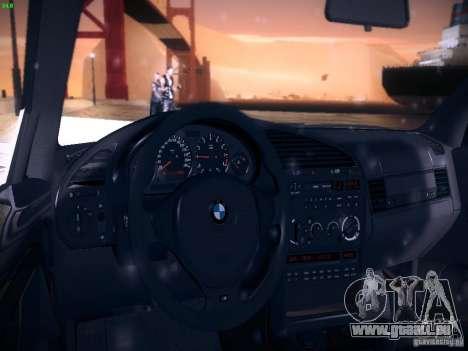 BMW M3 E36 320i Tunable pour GTA San Andreas vue de dessus