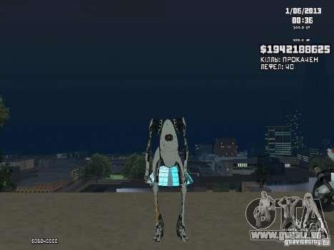 P-body pour GTA San Andreas deuxième écran