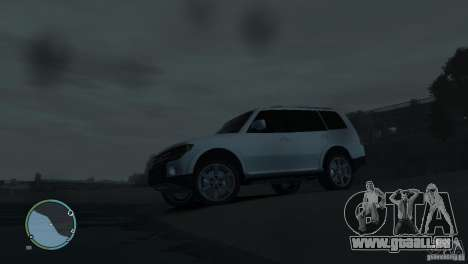Mitsubishi Pajero Wagon pour GTA 4 Salon