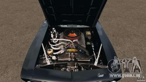 Chevrolet Camaro SS 350 1969 pour GTA 4 est un côté