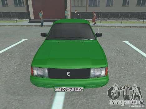 Moskvich 2141 pour GTA San Andreas laissé vue