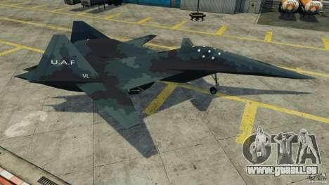 ADF-01 Falken pour GTA 4 est une gauche