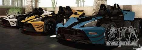 KTM-X-Bow pour GTA San Andreas