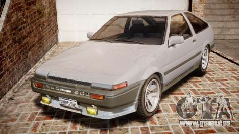 Toyota Sprinter Trueno 1986 für GTA 4