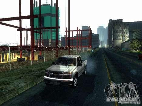 Chevrolet Colorado 2003 für GTA San Andreas linke Ansicht