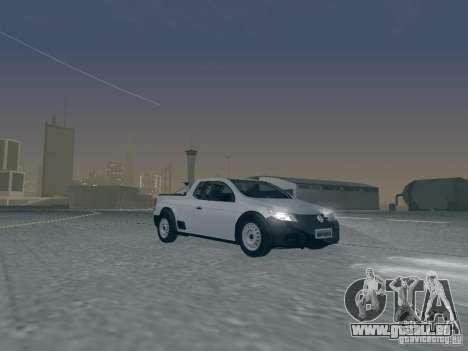 Volkswagen Saveiro 1.6 2009 pour GTA San Andreas vue de côté
