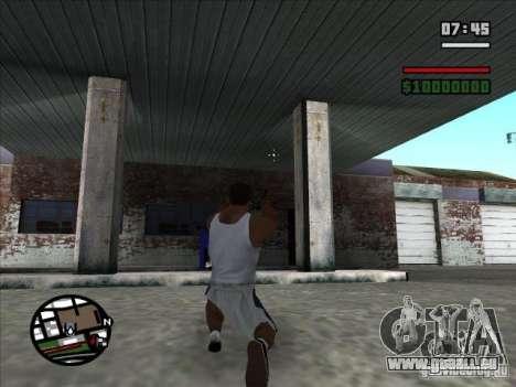 TMP pour GTA San Andreas troisième écran
