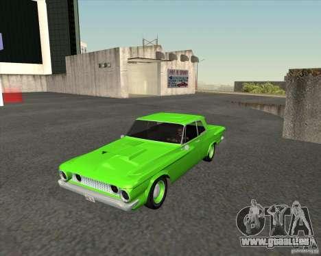 Plymouth Savoy 1962 pour GTA San Andreas vue arrière