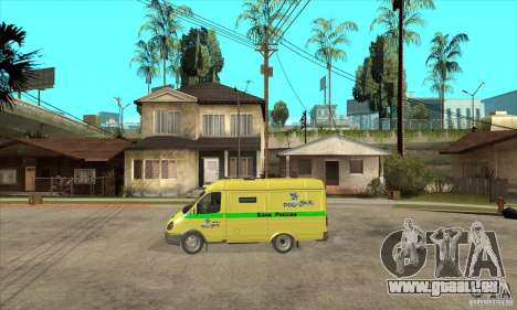 Collector's Gazelle für GTA San Andreas linke Ansicht