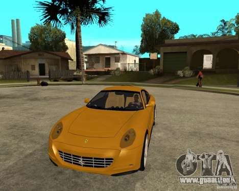Ferrari 612 Scaglietti pour GTA San Andreas vue arrière