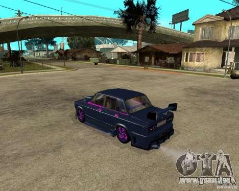 VAZ 2105 Street Race Tuning für GTA San Andreas linke Ansicht