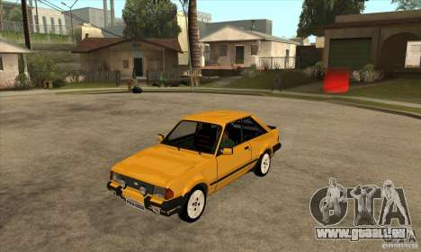 Ford Escort XR3 1986 pour GTA San Andreas