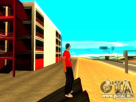 Journaliste de peau pour GTA San Andreas quatrième écran