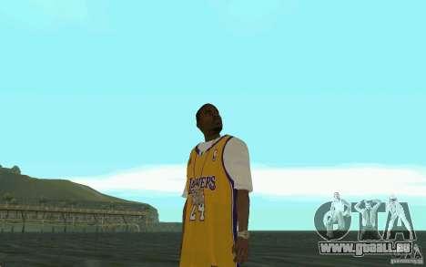 Afro-American HD skin pour GTA San Andreas cinquième écran