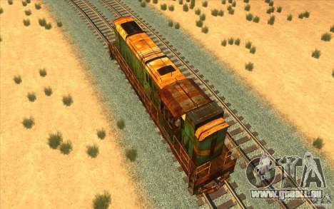 Chme3-5792 v2 pour GTA San Andreas vue de droite