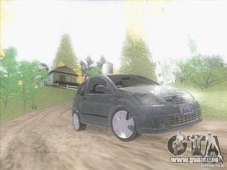Citroen C2 pour GTA San Andreas vue intérieure